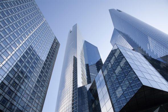 Paris - skyscraper form Defense