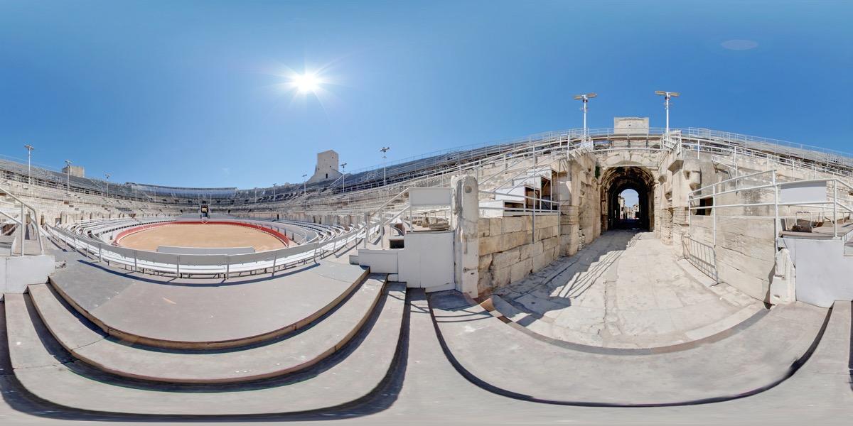 Vidéo 360 Site touristique gradins sud